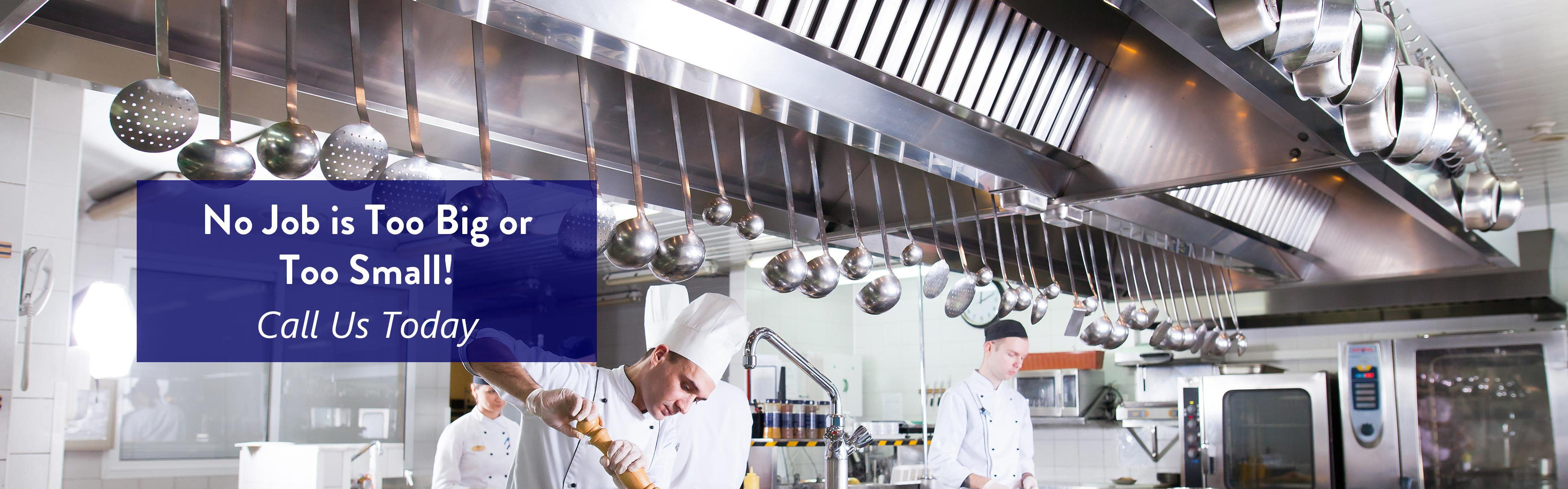 Chef working in Commercial Kitchen